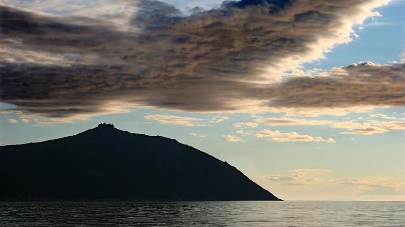 Землетрясение магнитудой 5,9 произошло в Охотском море
