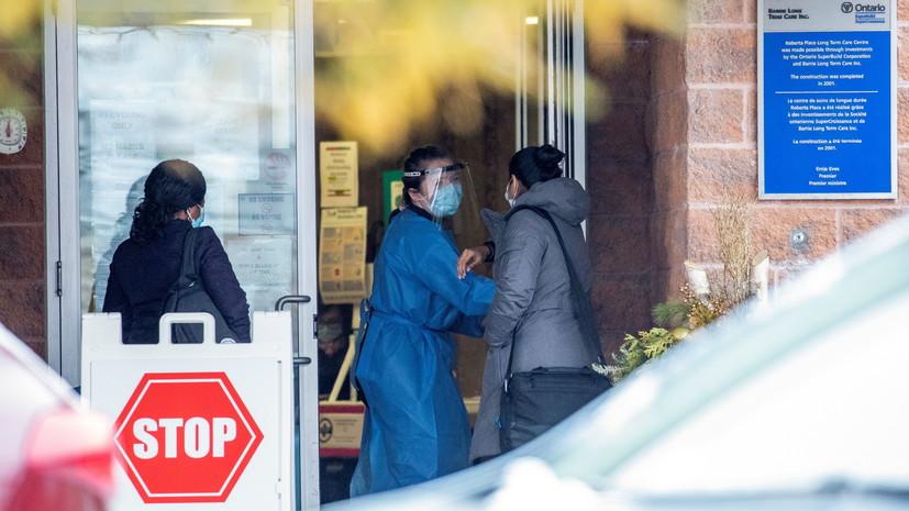 В Канаде общее число случаев коронавируса превысило 725 тысяч