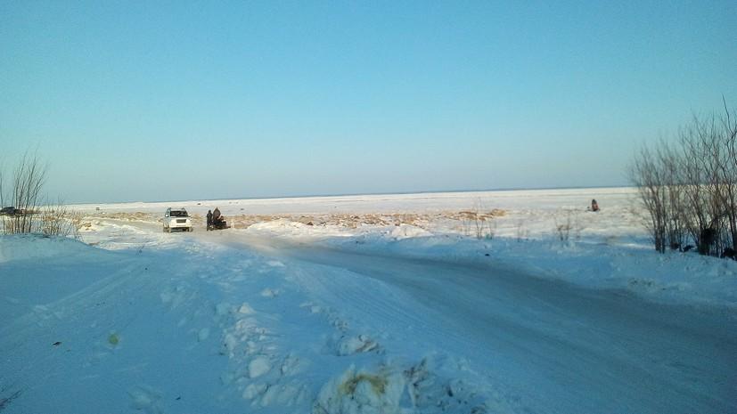 МЧС предупреждает о возможном отрыве прибрежного льда на Сахалине