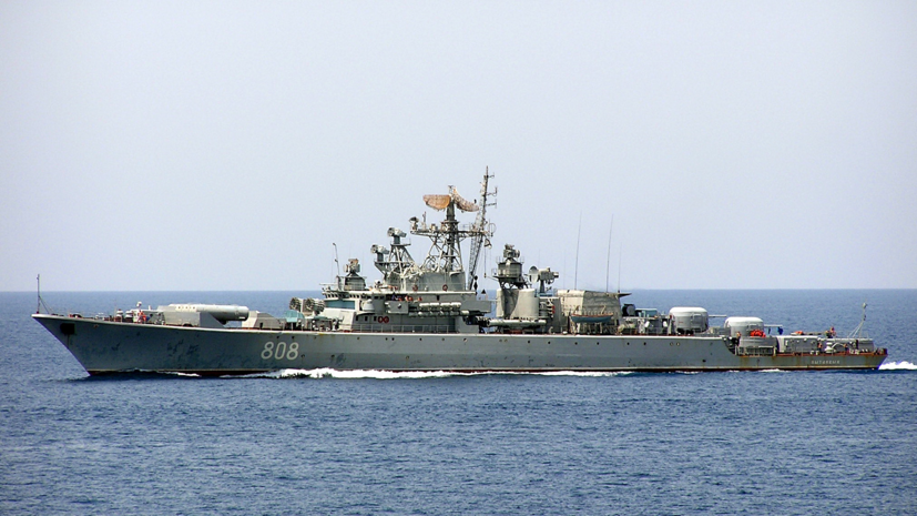 Сторожевой корабль ЧФ «Пытливый» вышел в море на учения