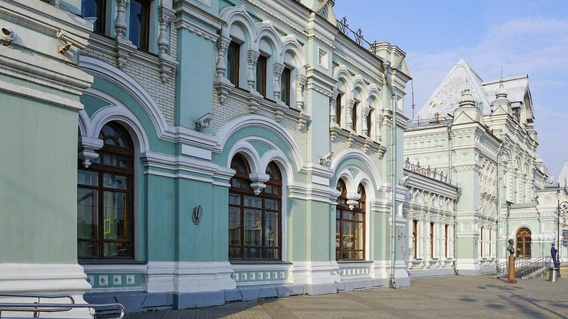 Ансамбль Рижского вокзала добавили в реестр объектов культурного наследия Москвы