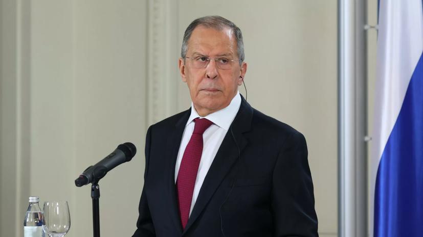 Лавров и глава МИД Белоруссии обсудили вопросы контроля над вооружениями