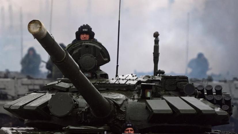 В Челябинской области прошли учения танковой дивизии ЦВО