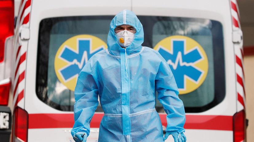 На Украине за сутки выявлено около 5 тысяч заболевших коронавирусом