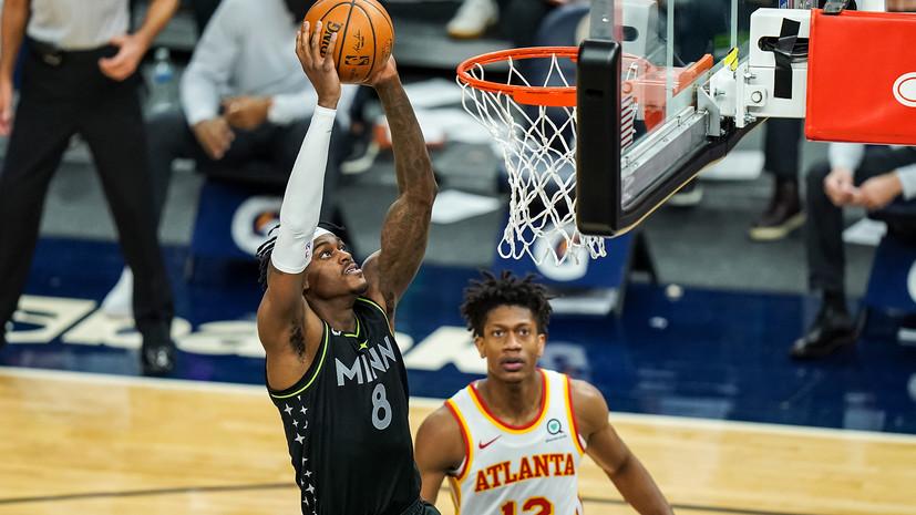 «Атланта» победила «Миннесоту» в НБА, Янг набрал 43 очка