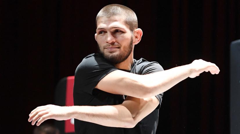 В сети появилось видео, как глава UFC уговаривает Нурмагомедова  возобновить карьеру