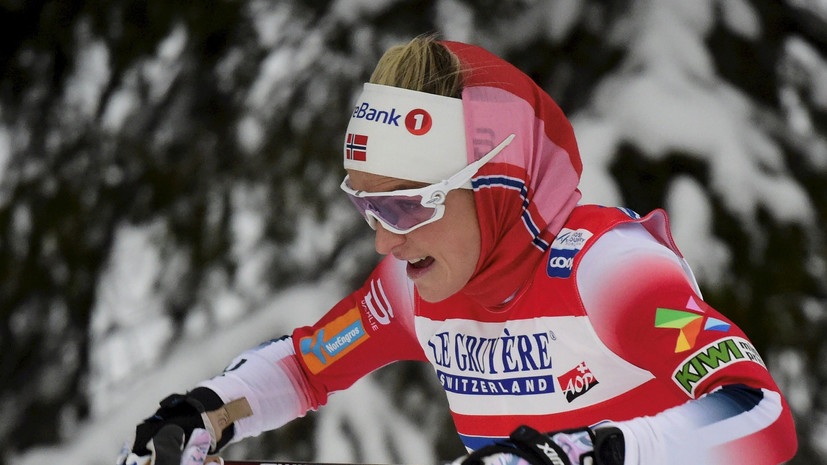 Йохауг победила в скиатлонена этапе КМ в Лахти, Непряева — шестая