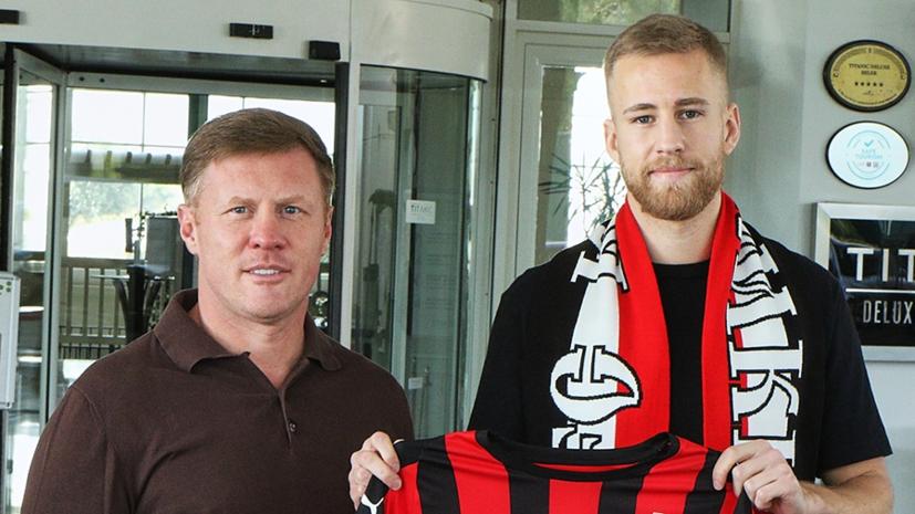 «Химки» объявили о подписании футболиста «Норрчёпинга»