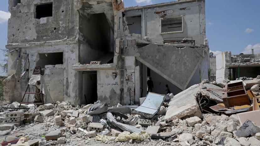 Террористы совершили 18 обстрелов в идлибской зоне деэскалации в Сирии