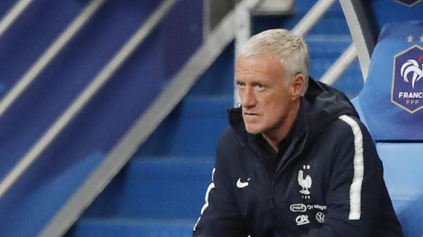 Дешам допустил, что Зидан в будущем может возглавить сборную Франции