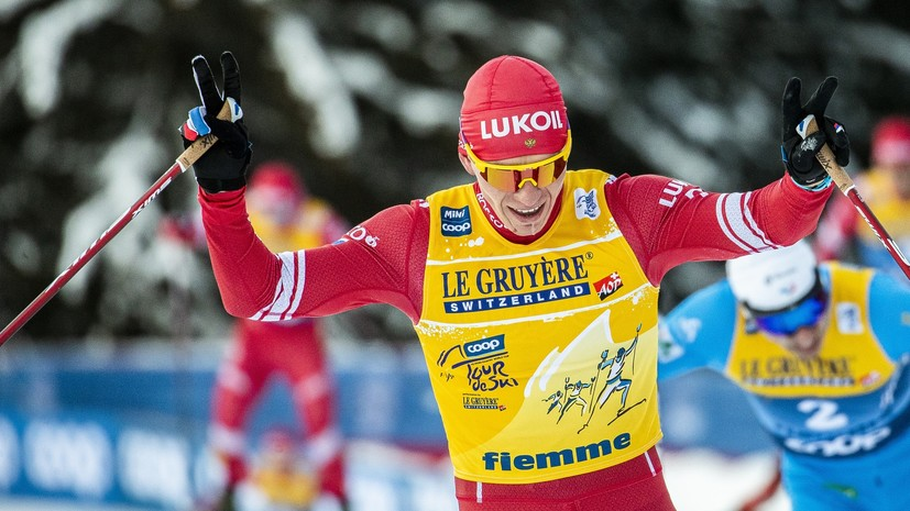 «Возвращать долги будем на чемпионате мира»: как Большунов отреагировал на столкновение с норвежцем на этапе КМ