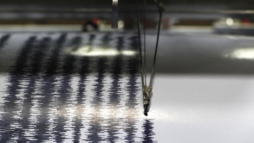 Землетрясение магнитудой 5,5 произошло у Южных Шетландских островов