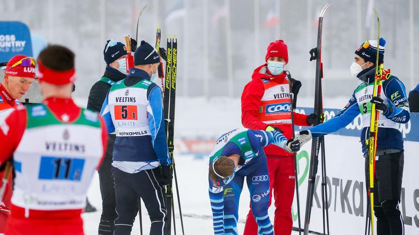 Финский лыжник Мяки — об инциденте с Большуновым: я делал всё правильно