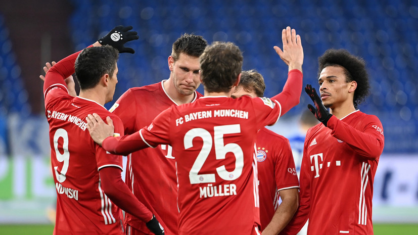 «Бавария» обыграла «Шальке» в матче Бундеслиги