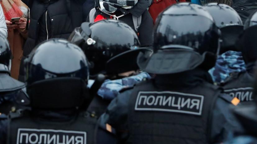 В Москве возбуждено дело по факту перекрытий улиц на акции 23 января