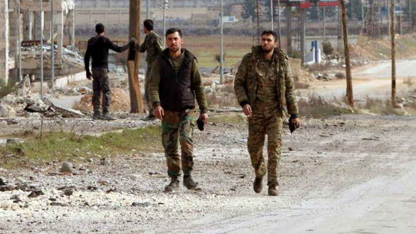 Трое сирийских военных погибли при обстреле автобуса боевиками