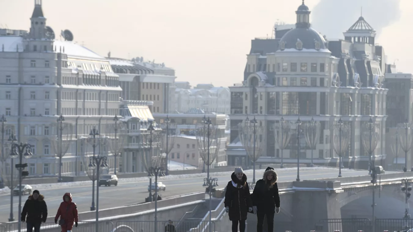 Самый тёплый день зимы зафиксирован в Москве