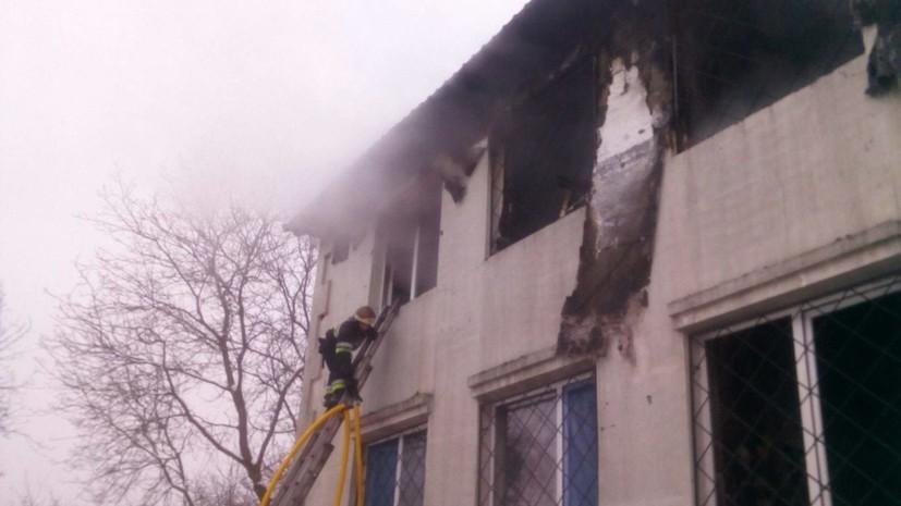 Число жертв пожара в харьковском доме престарелых возросло до 16