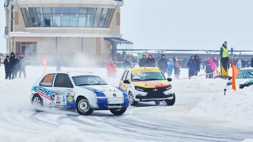 Команда B-Tuning завоевала бронзу на этапе КР по гонкам на льду в Чебоксарах