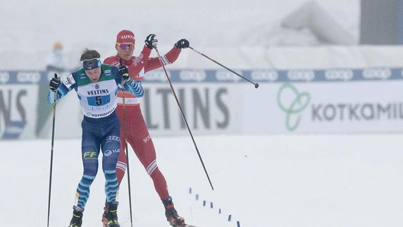 Роднина назвала недопустимым поведение Большунова в эстафете на этапе КМ в Лахти