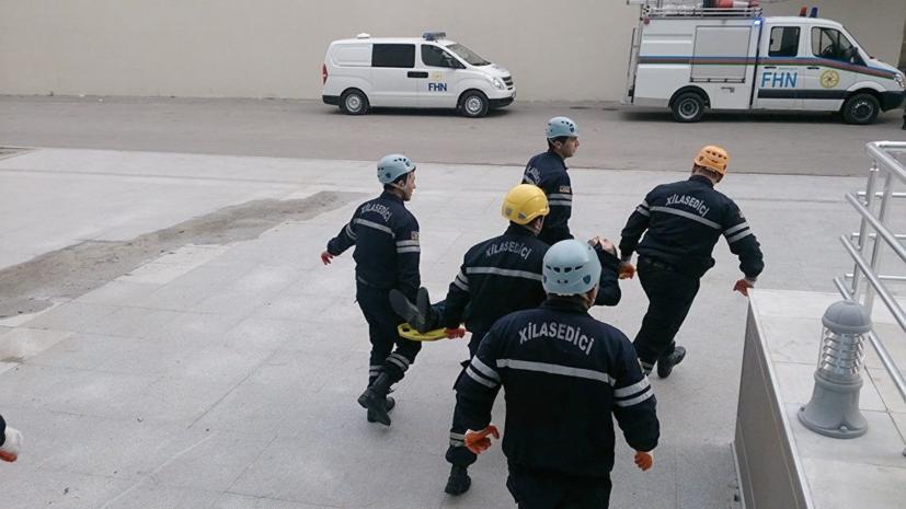 В пригороде Баку произошёл взрыв в жилом здании