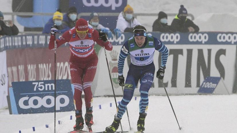 Канадский лыжник раскритиковал поведение Большунова в инциденте с Мяки