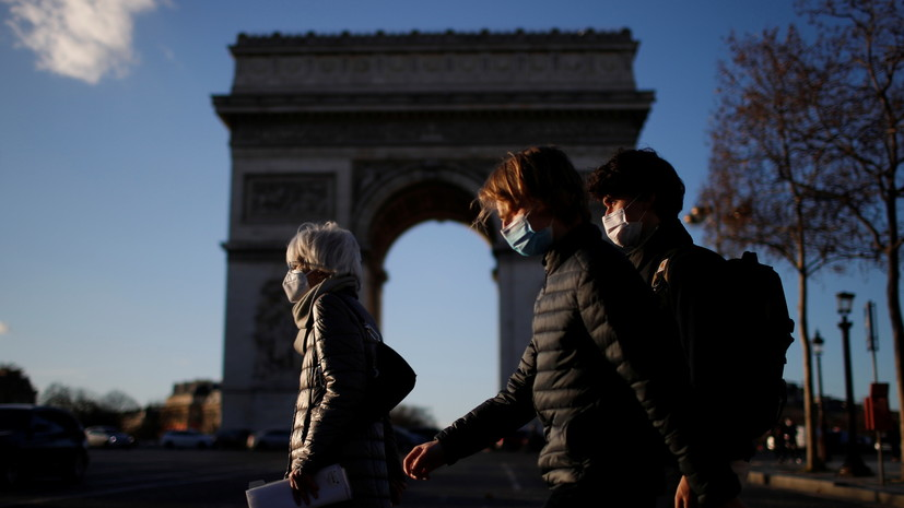 Во Франции общее число случаев коронавируса достигло 3 057 857