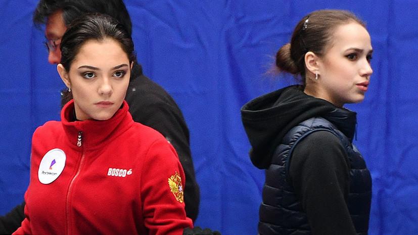 Загитова и Медведева выступят на командном турнире в Москве