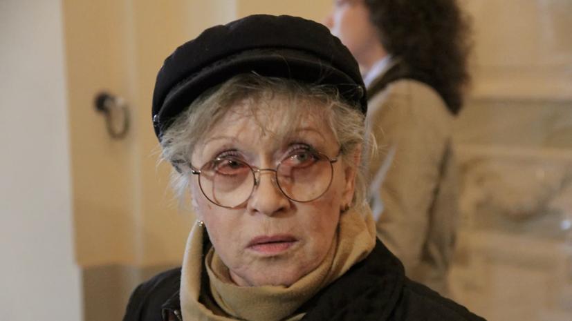 Алису Фрейндлих перевели из реанимации в лечебное отделение