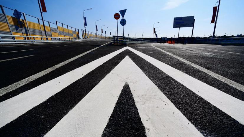 Путин и Воробьёв открыли развязку на Ленинградском шоссе