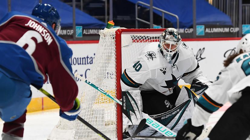 «Колорадо» взял верх над «Сан-Хосе» в НХЛ, Ничушкин набрал два очка