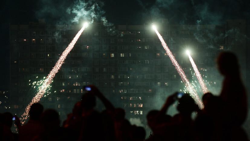 В России снизились продажи фейерверков и петард в новогодний период