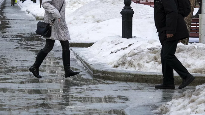 В МЧС предупредили о снеге и гололедице в Москве