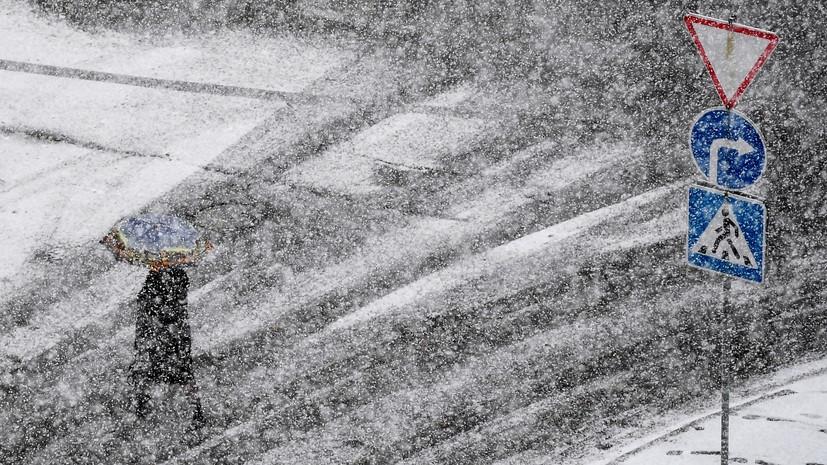 В Петербурге ожидается снег и гололедица