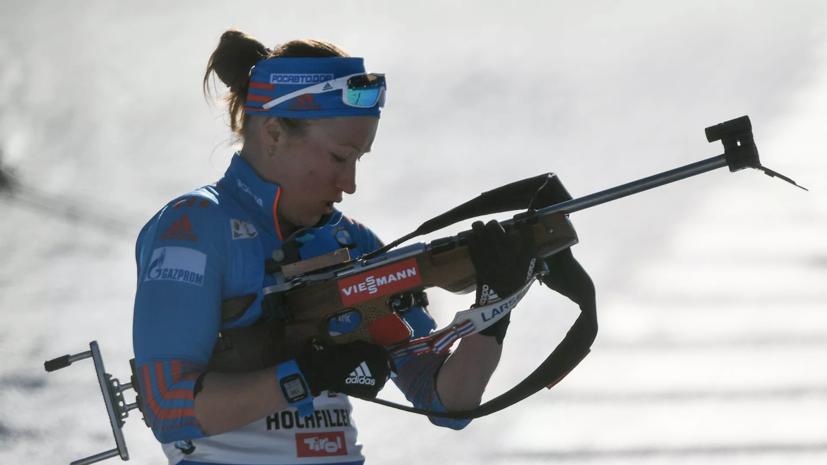 Майгуров высказался о причинах возвращения биатлонистки Подчуфаровой в Россию