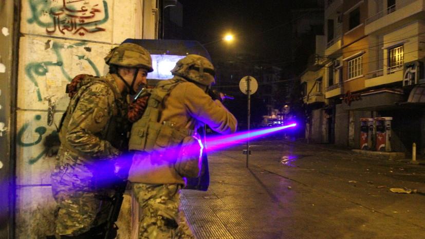 Красный Крест рассказал о пострадавших в ходе протестов в Триполи