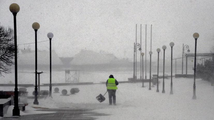 В Приморье объявили «оранжевый» уровень погодной опасности из-за штормового ветра