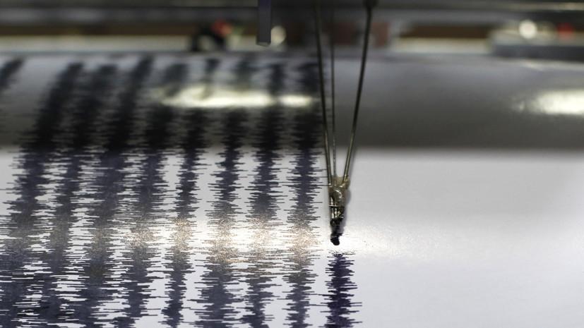 В Тиморском море произошло землетрясение магнитудой 5,6