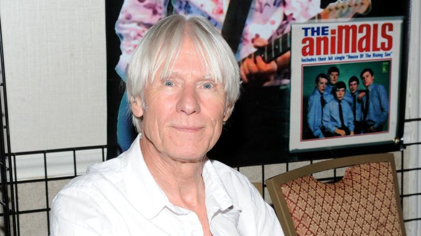 Умер экс-гитарист группы The Animals Хилтон Валентайн
