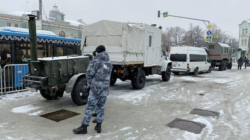 В Москве мужчина с ножом пытался ранить сотрудника Росгвардии