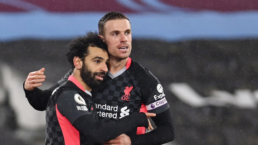 Дубль Салаха помог «Ливерпулю» победить «Вест Хэм» в матче АПЛ