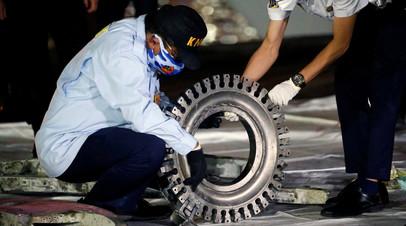 Специалист заявил, что разбившийся в Индонезии Boeing попал в зону турбулентности