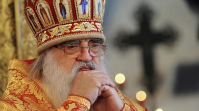 Стали известны дата и место прощания с митрополитом Филаретом