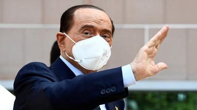 Сильвио Берлускони госпитализирован в Монако