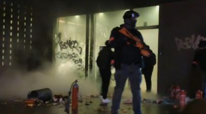 Смерть мужчины в Бельгии спровоцировала массовые беспорядки  видео