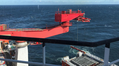 Bloomberg назвал сроки завершения строительства Северного потока  2
