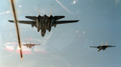 Самолёты международной коалиции в операции «Буря в пустыне»