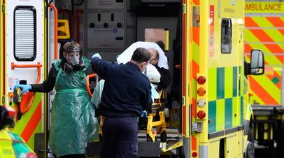 В Британии за сутки от коронавируса умерли более 1200 человек