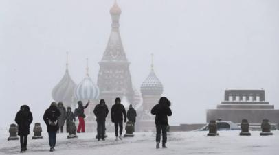 В Москве температура воздуха впервые за зиму опустилась ниже -20С