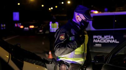 Diario: мощный взрыв произошёл в центре Мадрида